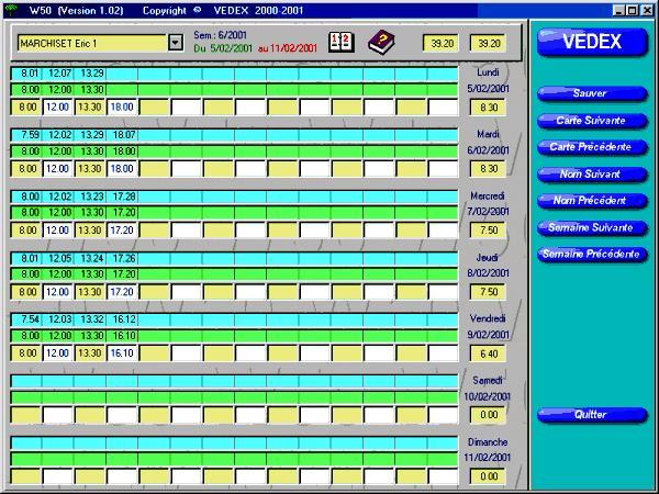 logiciel gratuit pointeuse
