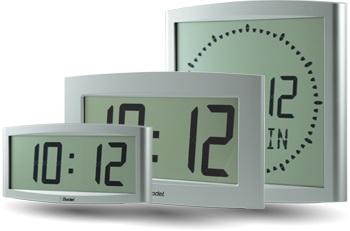 Horloges numériques à leds ou à cristaux liquides