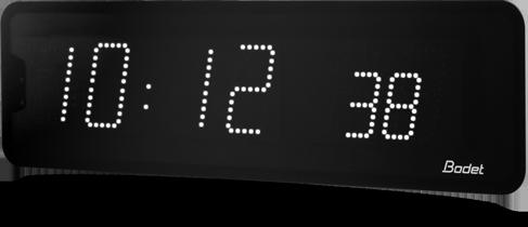 Horloge à LEDS affichage heures et minutes