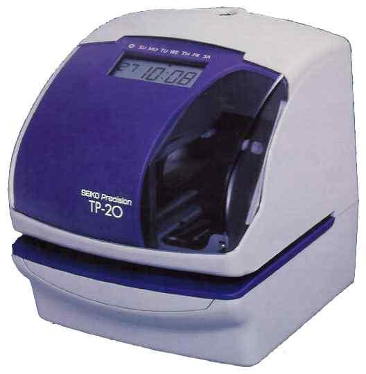 Horodateur Seiko TP-20